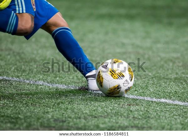 MLS - Atlanta United Vs. Real Salt Lake September 23rd, 2018 in Mercedes Benz Stadium in Atlanta Georgia - USA
