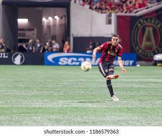 MLS - Miguel Almiron #10 - Atlanta United Vs. Real Salt Lake September 23rd, 2018 in Mercedes Benz Stadium in Atlanta Georgia - USA