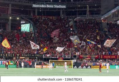 MLS - Stadium View General - Atlanta United Vs. Real Salt Lake September 23rd, 2018 in Mercedes Benz Stadium in Atlanta Georgia - USA