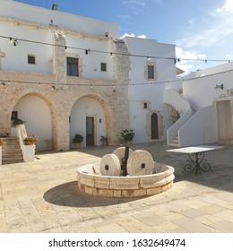 mmMasseria Casamassima  in a sunny day Ostuni, Puglia