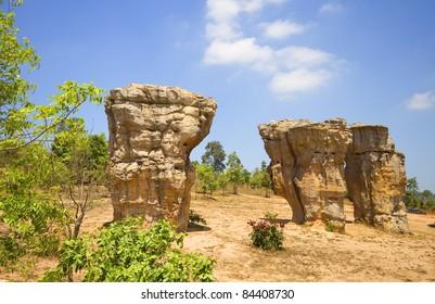Mo Hin Khao Chaiyaphum stone henge of Thailand