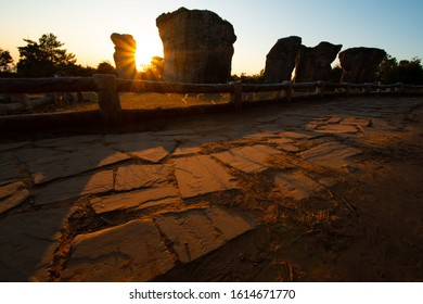 """Mo Hin Khao is an iconic rock formation on the sward, similar to Stonehenge of England. Therefore, it is known as """"Thailand Stonehenge"""", that is best known for the Phu Laen Kha National Park"""