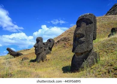 Moai Hinariru - Rapa Nui