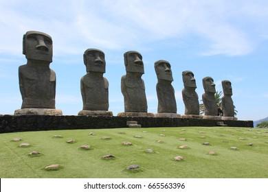 Moai statue,Miyazaki,Japan