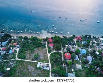 Moalboal Philippines from the air