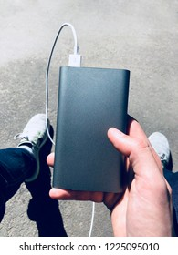 Mobile charging in hand