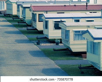 Mobile Home Site near Camber Sands, Sussex, UK