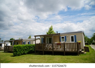 mobile home at a vacation park