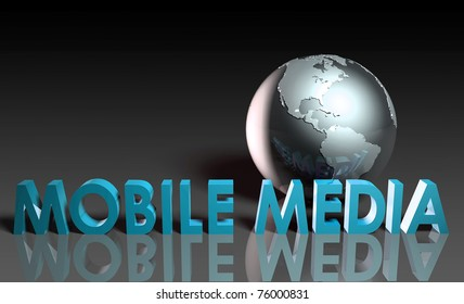 Mobile Media Content of Online Entertainment in 3d