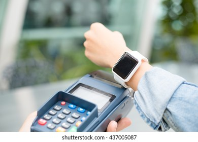 Mobile payament with smart watch