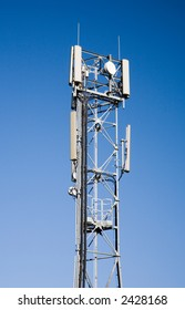 Mobile phone antenna or aerial tower