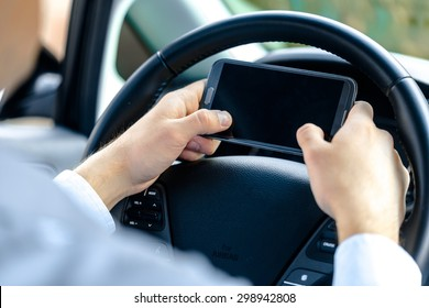 Mobile Phone, Driving, Telephone.