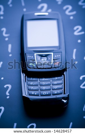 Mobile Phone Gsm Global Connection Stock Photo (Edit Now) 14628457