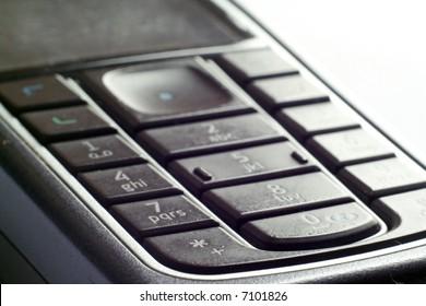 Mobile phone keyboard