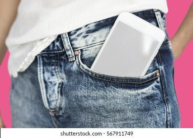 Mobile Phone Pocket Copy Space Communication Technology