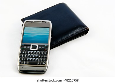Mobile phone and wallet