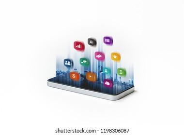 Mobile smart phone application technology