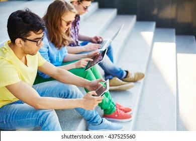 Mobile teens