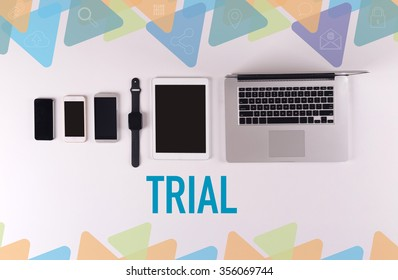 Mobility and modern telecommunication concept: TRIAL