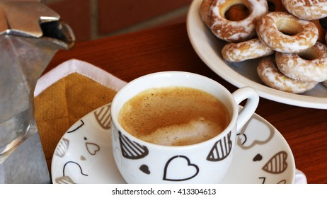 Mocaccino and bagels