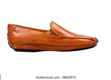 Moccasins isolated against