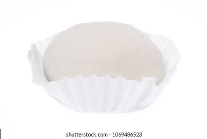 Mochi dessert isolated on white background