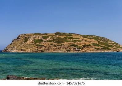 Mochlos - minoan settlement on the Crete island, Greece .
