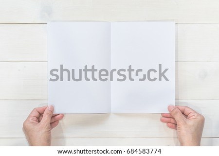 mock flyer pamphlet brochure design a 5 stock photo edit now