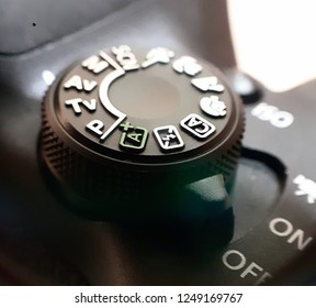 Mode dial on Camera