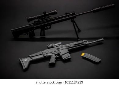 Model 1: 6 Military gun