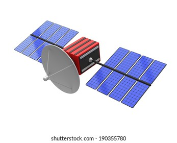 Model of an artificial satellite