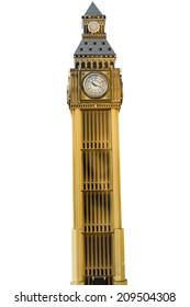 Model of Big Ben tower