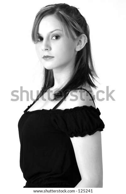 Model in Black and White 6