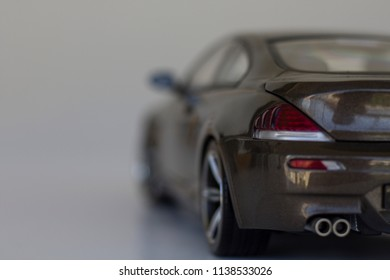 model car on the table