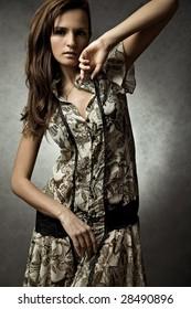 model, fashion