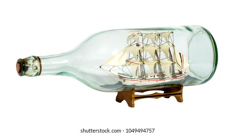 Ship in a Bottle Images, Stock Photos & Vectors   Shutterstock
