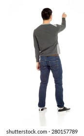 Model isolated back pointing