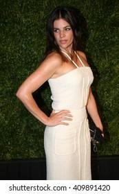 Model Julia Restoin Roitfeld attends the 11th Annual Chanel Tribeca Film Festival Artists Dinner at Balthazar on April 18, 2016 in New York City.