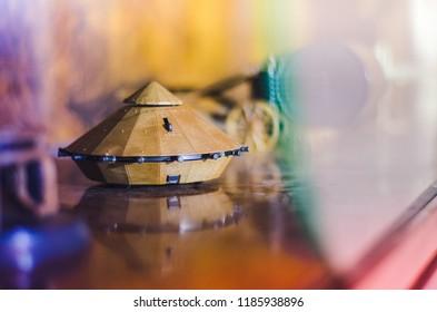 Model of Leonardo Da Vinci's Tank