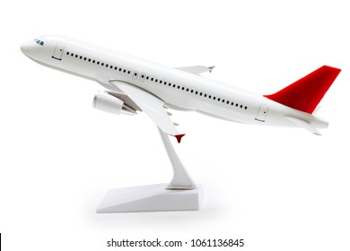 Model plane,airplane isolated on white background