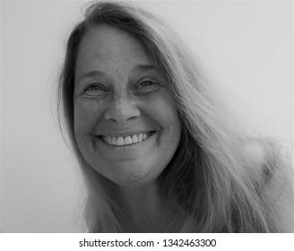 model portraits in studio - some in monochrome.