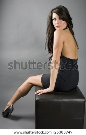 390376251 Model Pose Looking Back Camera Stock Photo (Edit Now) 25383949 ...