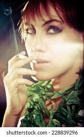 Model smoking