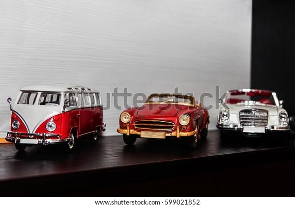Models of retro cars