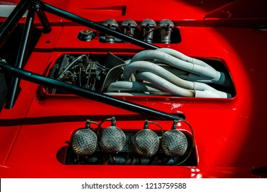 MODENA, ITALY - September, 2018. Modena Motor Gallery exhibit