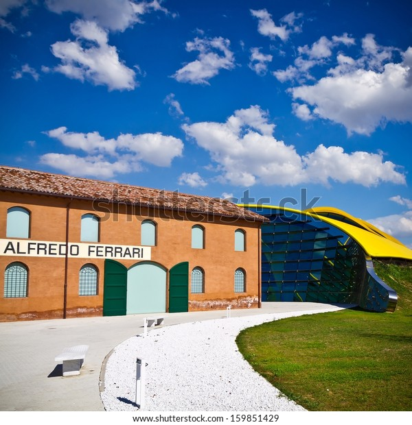 MODENA, ITALY - SEPTEMBER 9: Museum Casa Enzo Ferrari on September 9, 2013 in Modena. Museum was opened in March 2012.