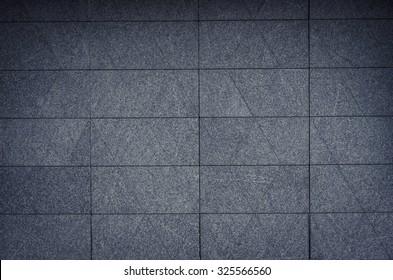 moder granite wall