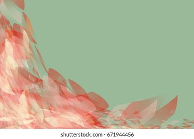 modern abstract brush colorful background