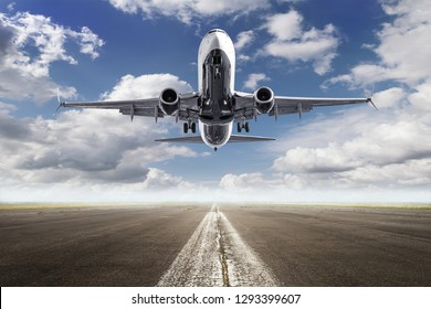 modern aircraft while take off