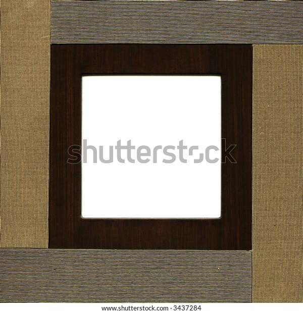 modern album - square frame